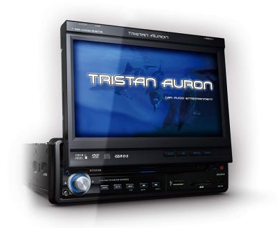 "Musik Tristan Auron ausfahrbarem 17,8cm ( 7"") Display Bluetooth Touchbutton"