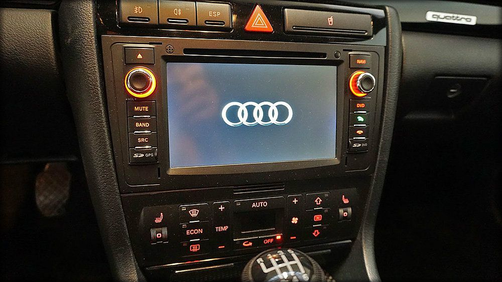 audi gebraucht und tuningteile rs4 biturbo navi cd. Black Bedroom Furniture Sets. Home Design Ideas